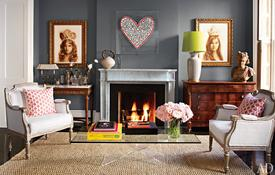 architectural-digest fireplace