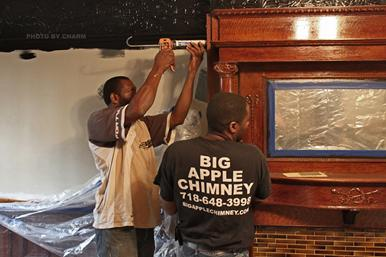 Fireplace_Mantle_Installation