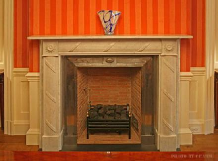 Steel Trim Fireplace